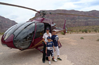 deluxe helicopter tour