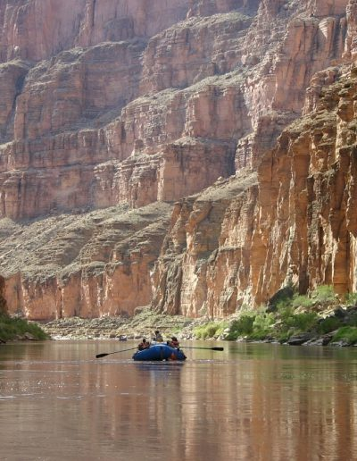 Grand Canyon Boat on Colorado River