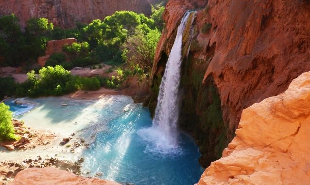 waterfalls around grand canyon