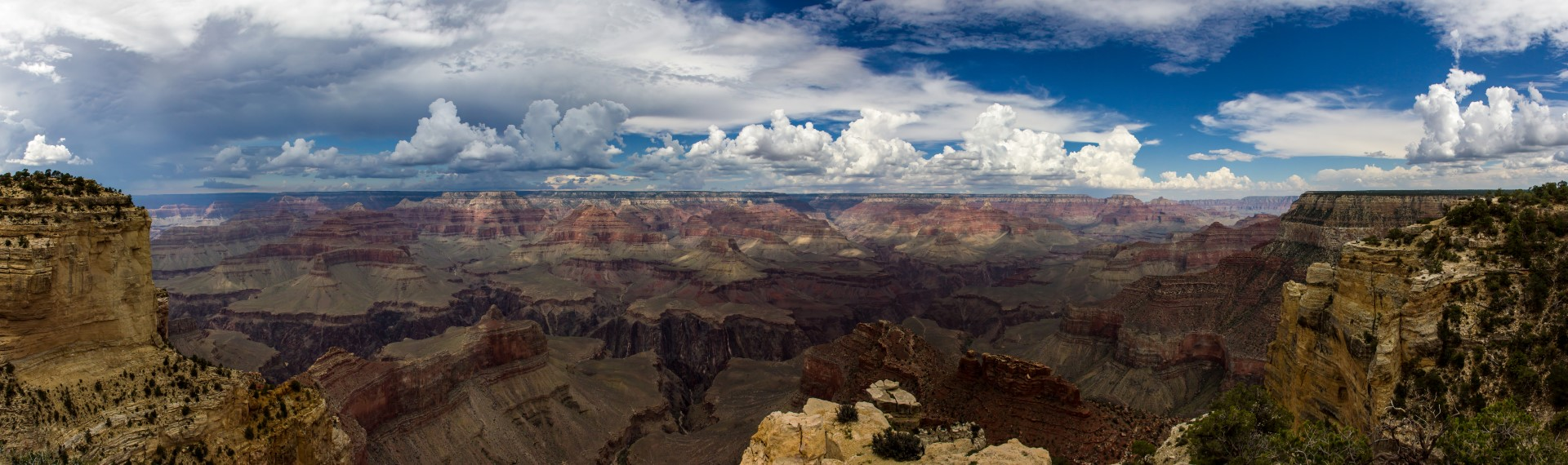 South Rim Helicopter Tour Canyon