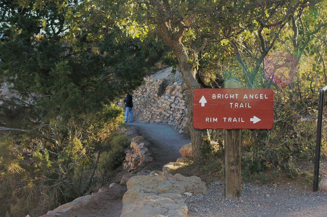bright angel trail grand canyon
