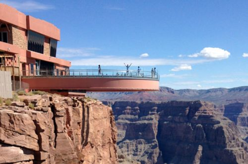 skywalk on the west rim helicopter