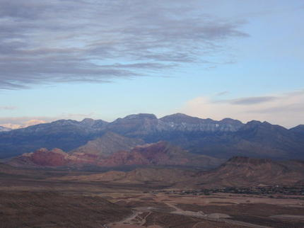las vegas hot air balloon ride - red rock canyon