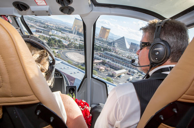 helicopter vegas wedding package