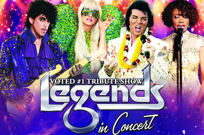 las vegas tour packages - legends in concert