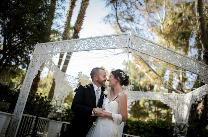outdoor las vegas wedding package