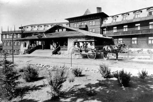 grand canyon ghosts - El Tovar hotel