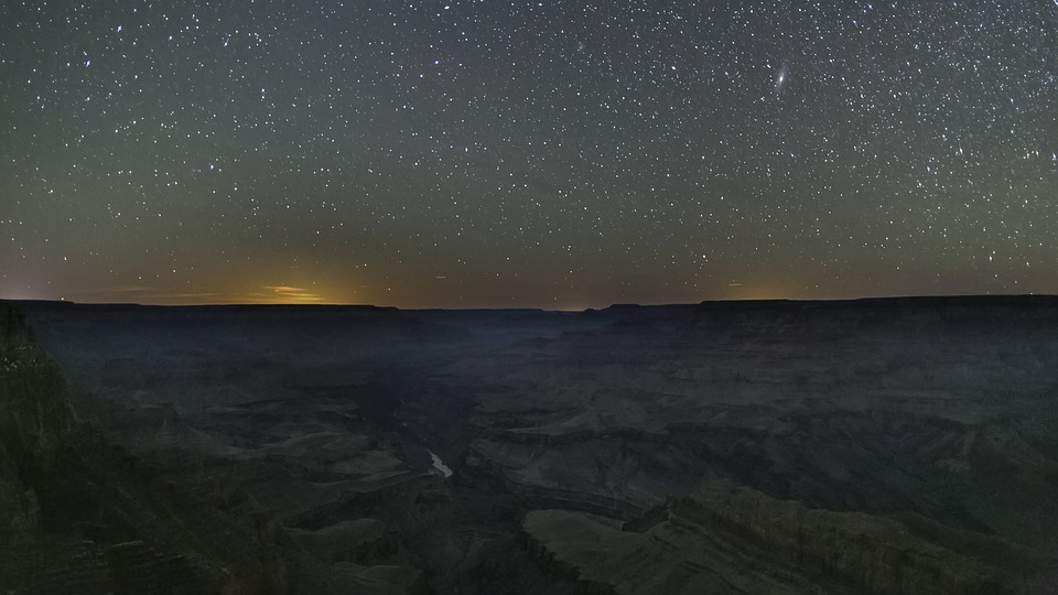 hunting grand canyon ghosts at night