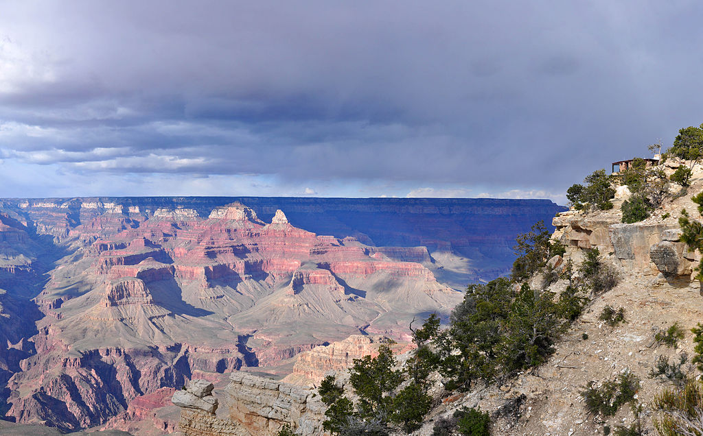 view from Yavapai Geology Museum in the Grand Canyon