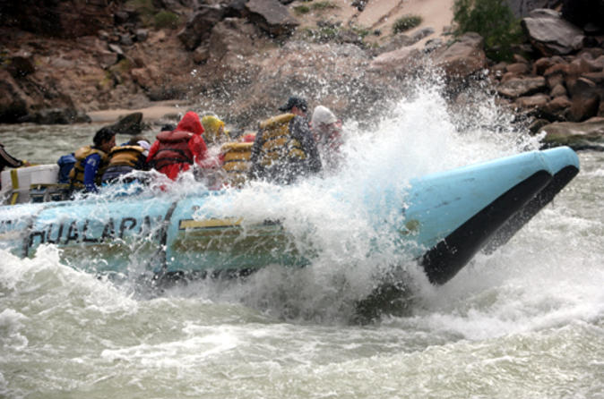 whitewater rafting in the grand canyon