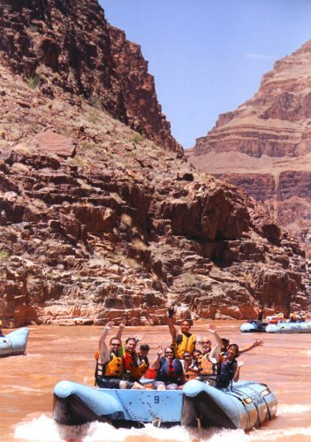 grand canyon river rafting colorado river