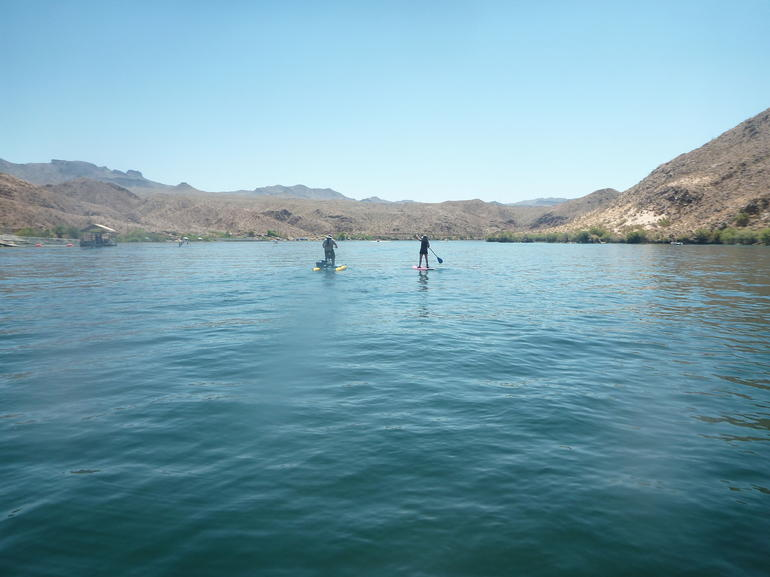paddleboarding-standing