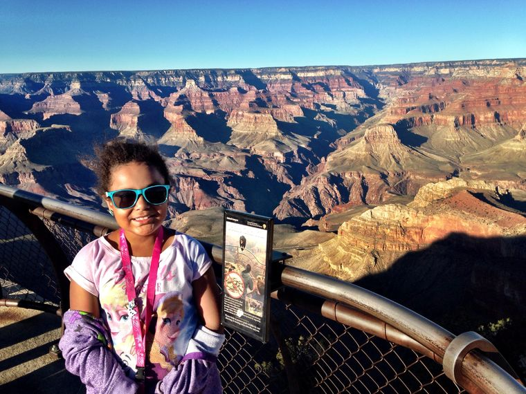 Las Vegas for kids - Grand Canyon Tour