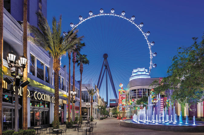 High Roller Ferris Wheel at the LINQ