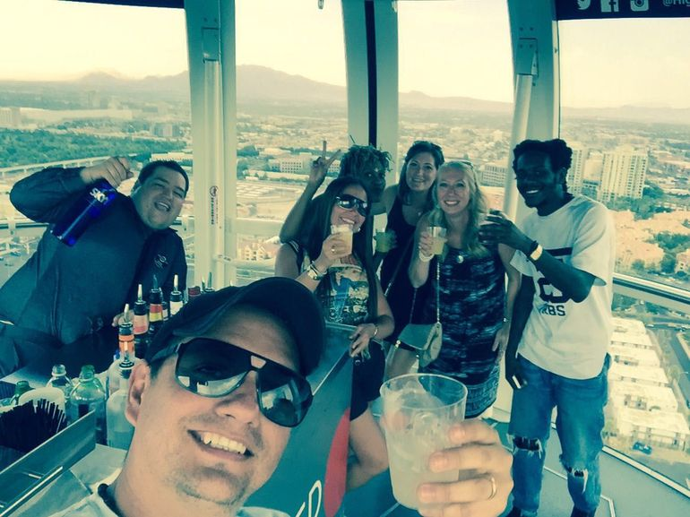High Roller Ferris Wheel birthday party