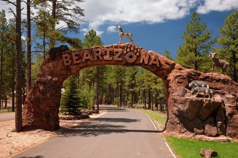 bearizona wildlife park entrance