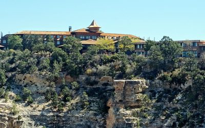 The El Tovar Hotel at The Grand Canyon