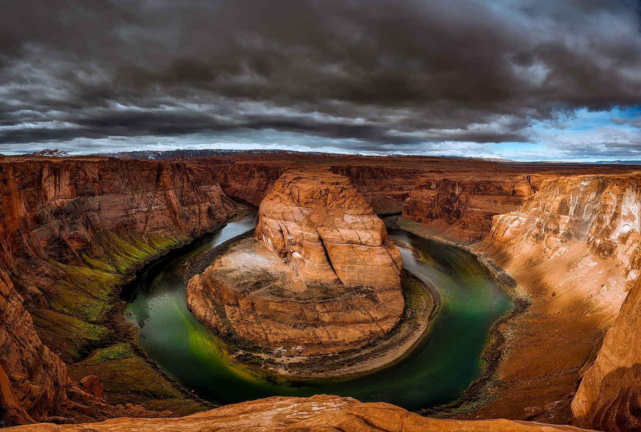 Horseshoe Bend from Grand Canyon East