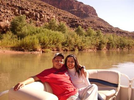 Boat Ride Down Colorado River