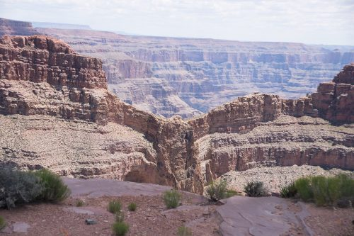Eagle Point Lookout at Grand Canyon