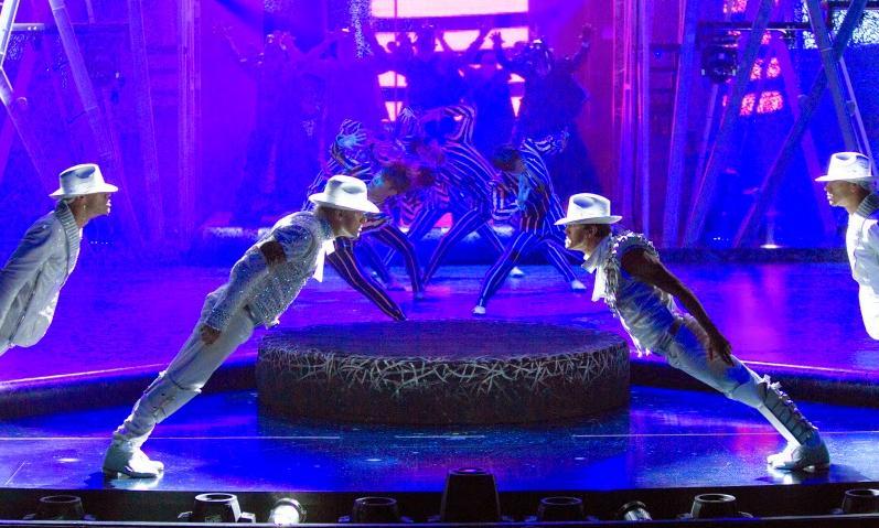Michael Jackson Cirque du Soleil Cast