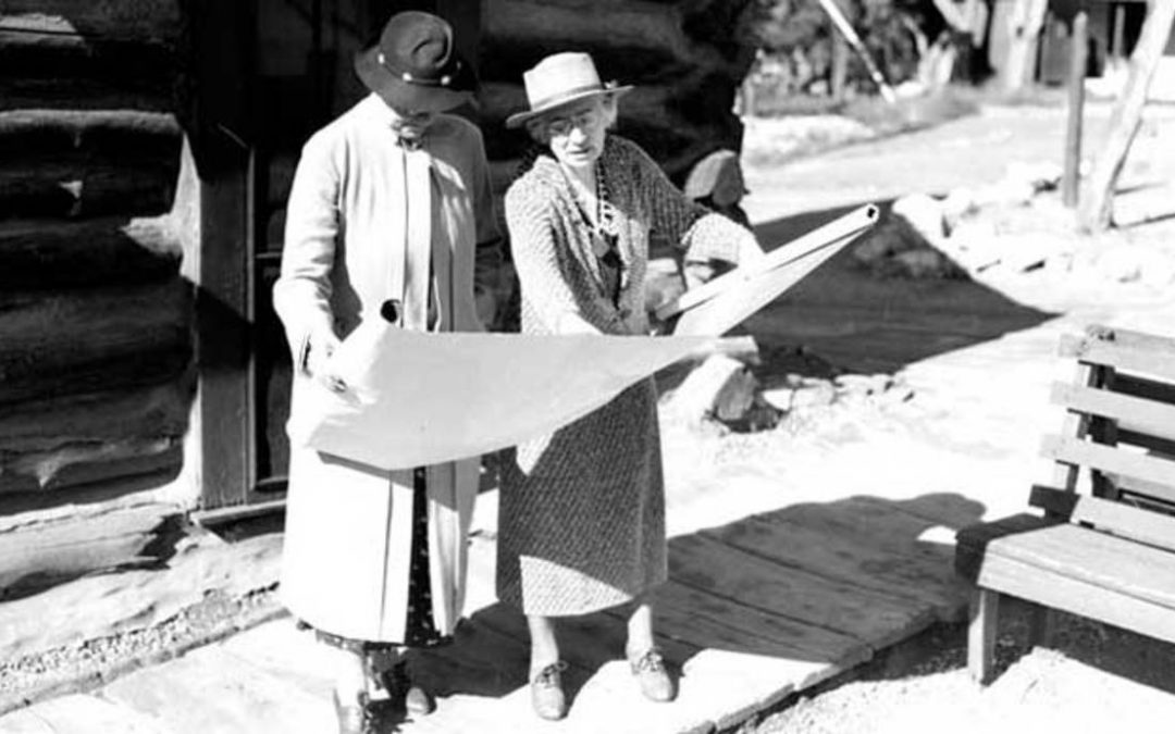 Mary Colter. Building the Grand Canyon.