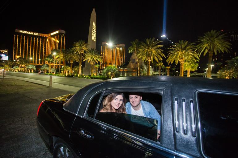 Romantic Limo Trip of the Las Vegas Strip