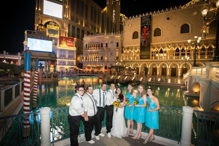 Venetian Canals in Las Vegas